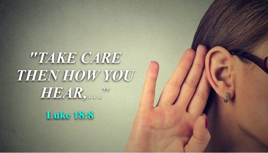 take care then how you hear